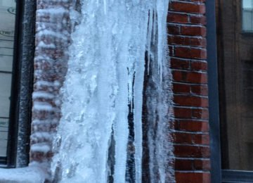 There are, of course, a number of things you should do to safeguard your home during winter, but keeping pipes from freezing is one of the most important.That's because frozen pipes burst. Freezing is, in fact, the main reason they burst, and any time the temperature of one drops bellow 32 degrees, a pipe is vulnerable because frozen water creates pressure inside it.